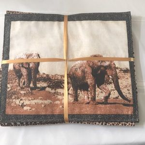 African Safari Placemats - Set of 6